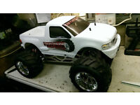 fg monster 1/5 scale petrol 26cc two stroke rc