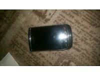 blackberry torch 9800 unlocked good condition black