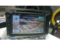 BRAND NEW VAUXHALL ANDROID CAR STEREO**16GB INTERNAL MEMORY*BUILT IN FULL EU MAPS**FITS MOST MODELS
