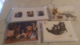 Lots of Xmas cards - mostly charity and still packaged