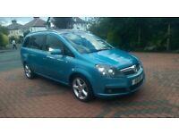 2005 VAUXHALL ZAFIRA SRI CDTI 150 1.9 Diesel E4 BLUE Panoramic Sun Roof with Electric Blind