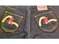 EVISU Water Margin Jeans – RARE