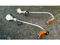 Stihl strimmers x2 selling as spares or repairs