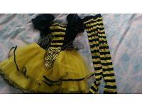 Girl bee costume