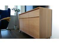 John Lewis Oak Veneer - Sideboard - as good as new, bargain price