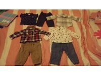 Baby boys clothes bundle 3-6 mths