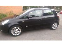 Vauxhall Corsa 1.2 i 16v SXi Black 5dr 2 Owners, Mileage 28529, A/c.