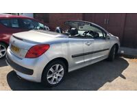 2010 Peugeot 207 CC , NEW MOT: 16/07/2019, LOW MILEAHE