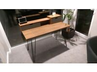 Walnut Office / Study Desk - modern contemporary design bought from Dwell