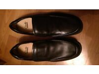 Clarks Line Free Slip on Leather Shoes - Brand New - UK Size 11