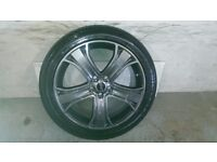 ALLOYS X 4 OF 20 INCH GENUINE RANGEROVER/DISCOVERY/AUTOBIOGRAPHY/FULLY POWDERCOATED IN ANTHRACITE