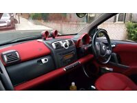 2009 59 SMART FORTWO DIESEL CDI 20,000 MILES RED INTERIOR FULL SERVICE HISTORY !!!!!BARGAIN!!!!!