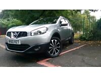 Nissan Qashqai +2 Plus N-Tec Facelift 2010 7 Seater ideal for School Run HPI Clear STUNNING