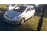 7 seater Toyota corolla verso 1.8 silver very good condition