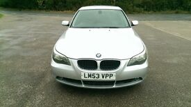 BMW 520i SE 2.2 AUTOMATIC, LOW MILEAGE, EXTENSIVE BMW DEALER SERVICE HISTORY, FULLY LOADED,2 OWNERS