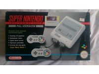 SUPER NINTENDO [PAL UK] – Original Mario World Boxed Set ** Complete & in great condition! **