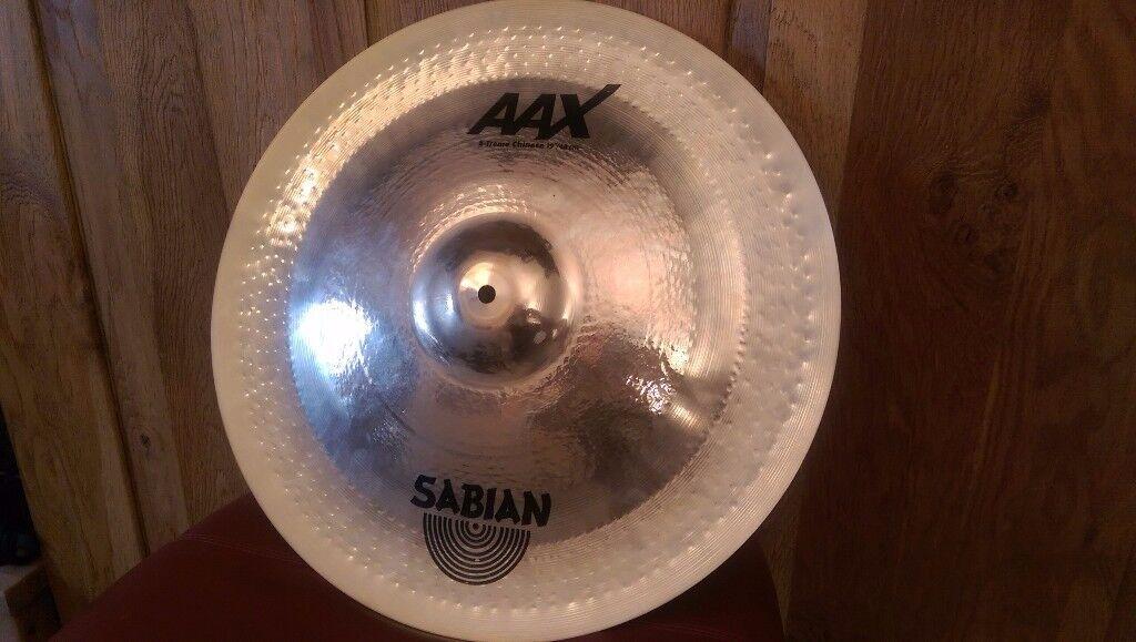 Sabian AAX X-Treme Chinese 19'' Cymbal / China / £150 O.N.O.