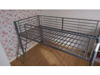 Kids metal bed frame