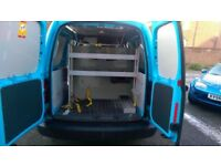 Van interior racking.