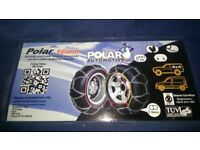 Snow Chains Polar 16mm P460 suit 4x4 with wide low profiles (Mercedes ML etc)