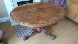 Victorian Flip Top Loo Table