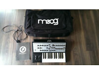 Moog Sub Phatty analog synthesiser + official gig bag, immaculate condition
