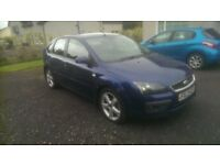Blue Ford Focus for sale
