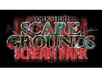 Yorkshire Scareground ticket