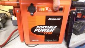 Snap On Battery Charger Booster Portable Power 1700 12V Jump Starter