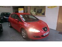 2008 SEAT LEON 1.4 TSI REFERENCE SPORT, 5DOOR, NEW TIMING CHAIN, SERVICE HISTORY, AND CLEAN CAR.