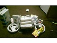 Nintendo wii with loads of extras
