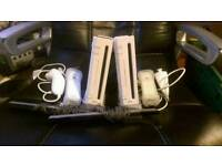 2 x Wii consoles