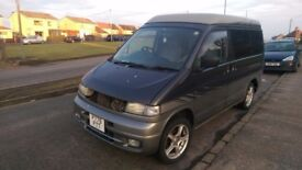 Breaking mk1 mazda bongo 2.5td 4x4 auto for parts