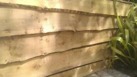 heavy duty live edged treated cladding ideal for raised beds, vegetable beds and feature walls