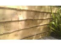 heavy duty live edged treated cladding ideal for raised beds vegetable beds and feature walls