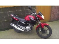 Yamaha ybr 125, 2014 needs MOT (stored for winter)