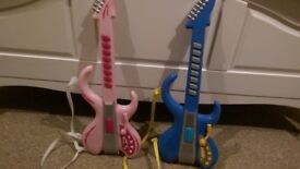 Set of 2 Play Electric Guitars