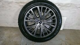 ALLOYS X 4 OF GENUINE 20 INCH RANGEROVER/DISCOVERY/FULLY POWDERCOATED INA STUNNING NEW ANTHRACITE
