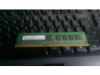 Selling 2X2Gb DDR3 1066Mhz ram
