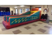 Bungee Run in good condition w/ blower, very popular at events, 20 ft long, £600