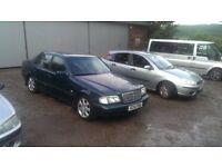 Mercedes Benz C200 C- CLASS SPARES OR REPAIRS 1998 RUNS GREAT/ NO MOT