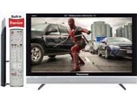 42'' PANASONIC TV + Freeview + Built-In Soundbar + Ambient Sound