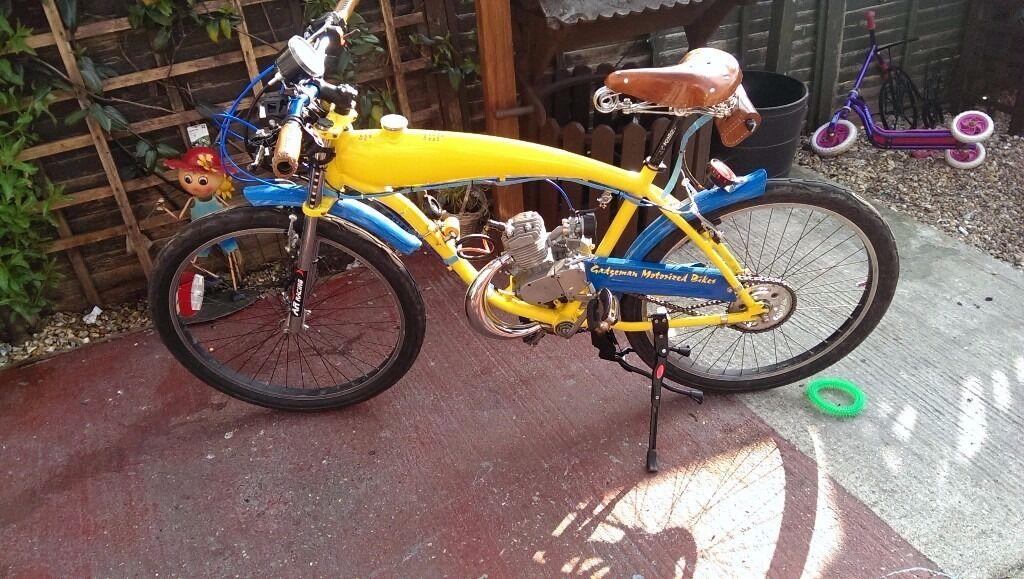 Motorized bike high spec build swap electric bike | in Havant