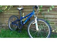 "DAWES BIKE 24"" wheels good working order"