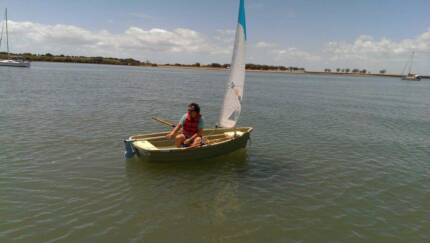 Walker Bay 10 Rigid Sailing Dingy WITH 2HP Yamaha Outboard