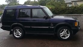 NOW SOLD. Land Rover Discovery Td5 - 2001 Cairngorm special edition. Many new parts