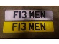 Private plate f13men