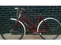 Ladies Town bike Raleigh Tourist 1964