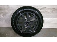 ALLOYS X 4 OF 18 INCH GENUINE DISCOVERY 2/OR/3/FULLY POWDERCOATED INA STUNNING ANTHRACITE VERY NICE