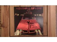 Young Heart Attack 'Mouthful Of Love' Vinyl LP Album